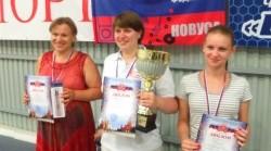 Победители Чемпионата России по новусу 2016 года среди женщин